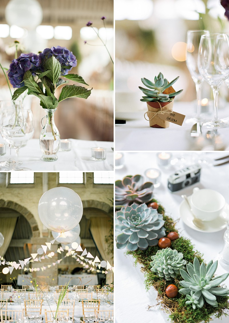 A Scottish Highlands Wedding At Coos Cathedral With A Raimon Bundo Weddding Dress And A Craspedia And Succulent Bouquet Photographed By Ann Kathrin Koch._0007