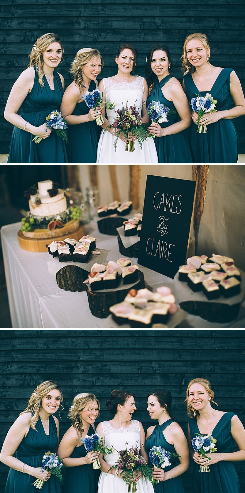 A wedding at Alpheton Hall Barns in Suffolk with a Jesus Peiro ballgown dress navy bridesmaids and DIY_0157