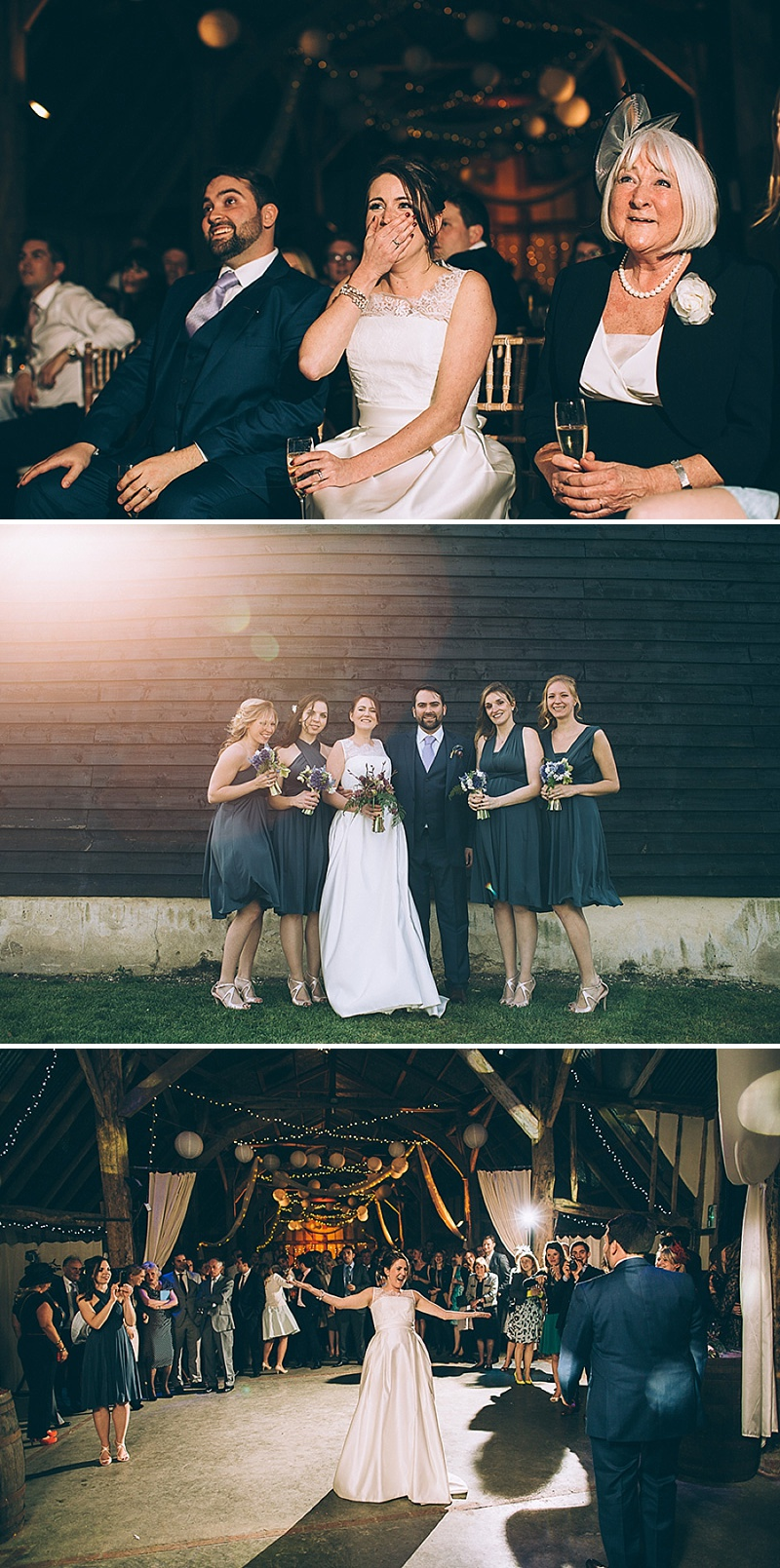 A wedding at Alpheton Hall Barns in Suffolk with a Jesus Peiro ballgown dress navy bridesmaids and DIY_0163