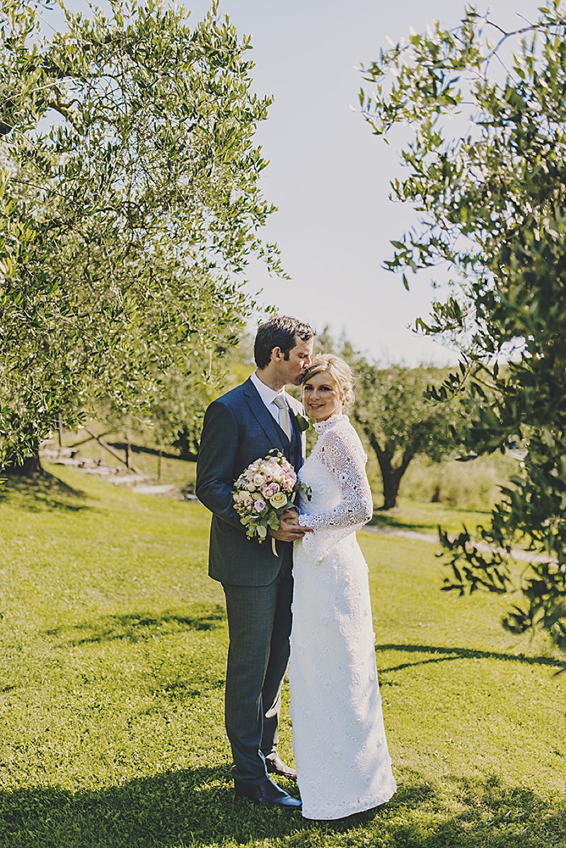 An Italian Destination Wedding At Borgo Di Tragliata Near Rome With A Vintage Crotchet Wedding