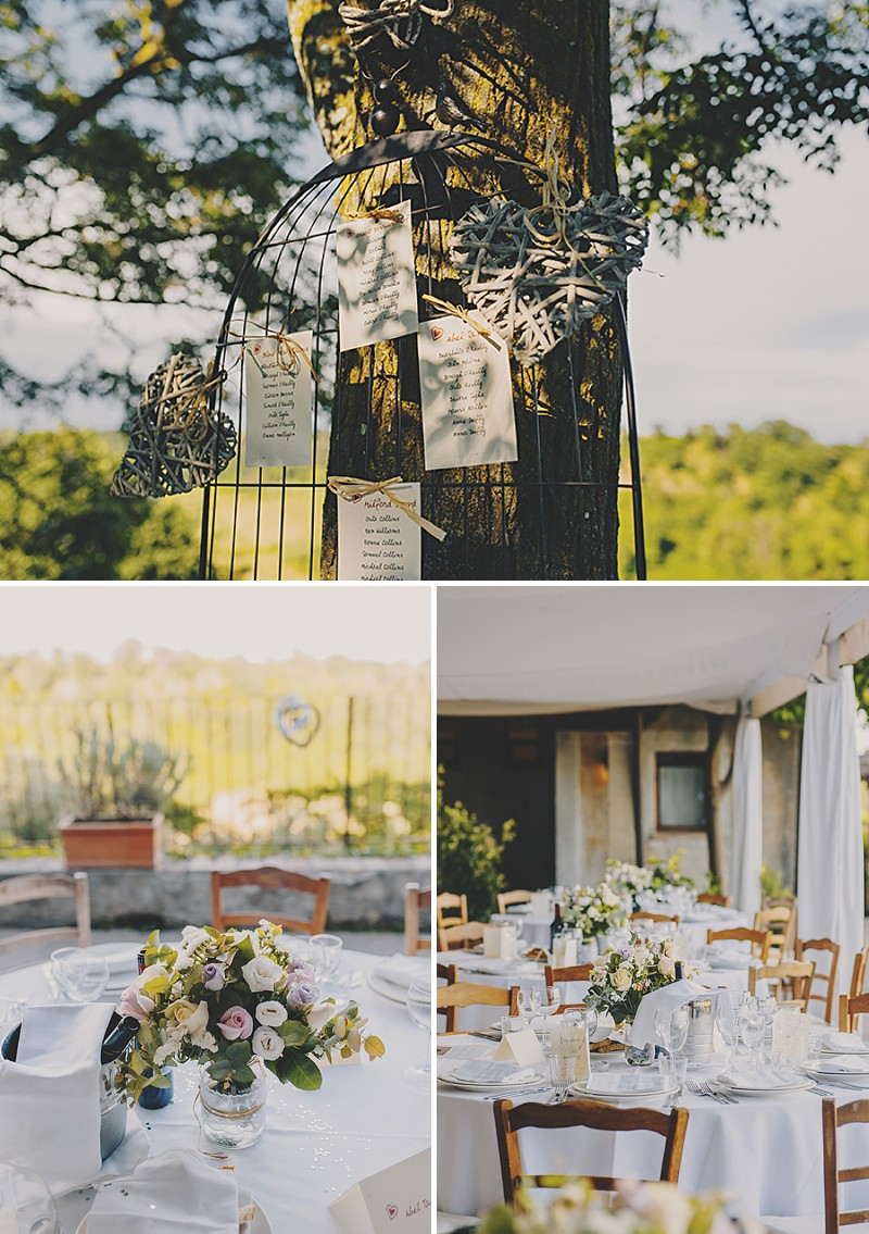 An Italian Destination Wedding At Borgo di Tragliata Near Rome With A Vintage Crotchet Wedding Dress and Sorbet Rose Bouquet Photographed By Mark Pacura._0008