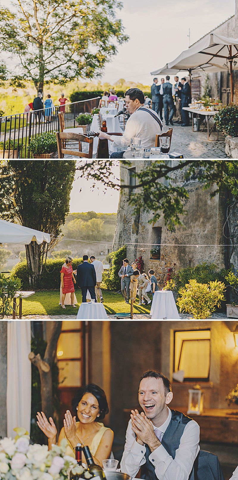 An Italian Destination Wedding At Borgo di Tragliata Near Rome With A Vintage Crotchet Wedding Dress and Sorbet Rose Bouquet Photographed By Mark Pacura._0010