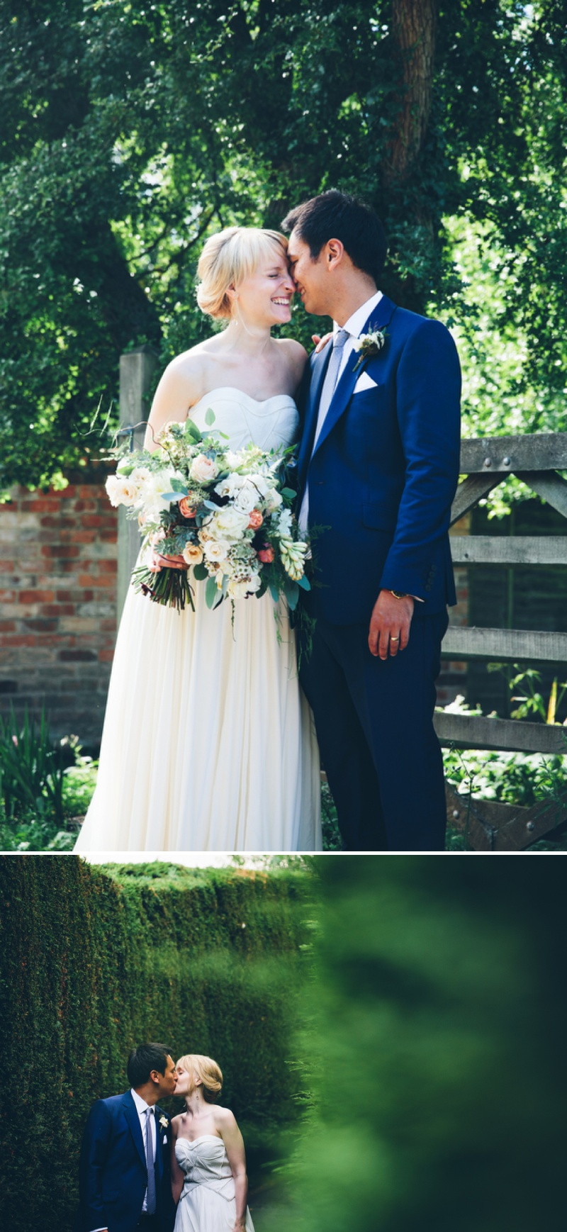 Beautifully Styled Elegant Yet Relaxed Marquee Wedding In Nottinghamshire With Bride In Nanette By Catherine Deane And Groom In Navy Suit By Reiss With A Floral Arch And Flower Box Created By Floraldeco 10