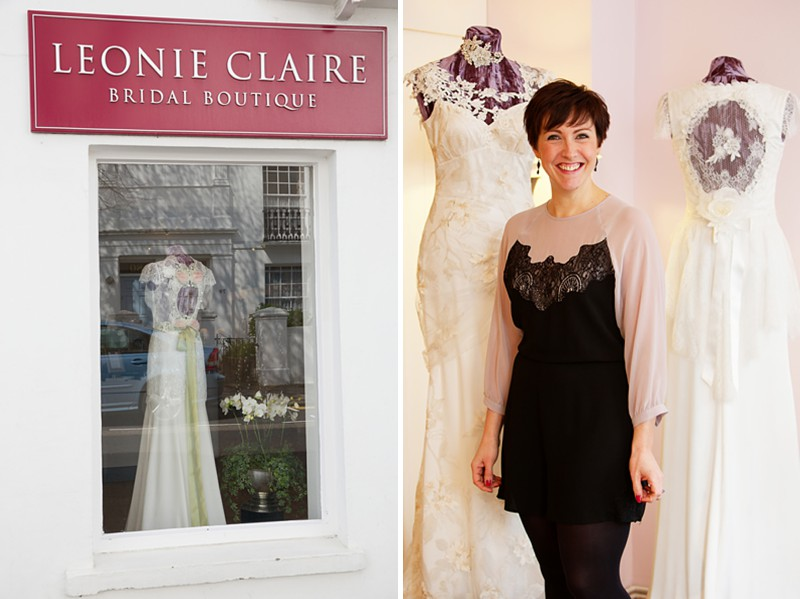 Nestled in the heart of central Brighton, Leonie Claire is a designer boutique showcasing a stunning collection of bridal gowns and accessories._0001