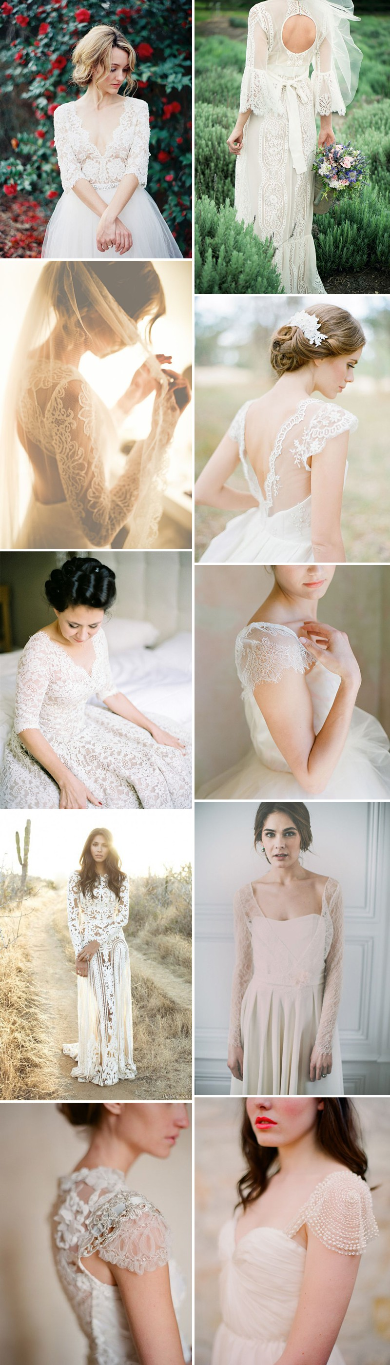 Rock My Wedding's Favourite 2014 Bridal Trends Including Statement Back Bridal Gowns, Juliet Bridal Veil And Two Piece Wedding Dresses._0002
