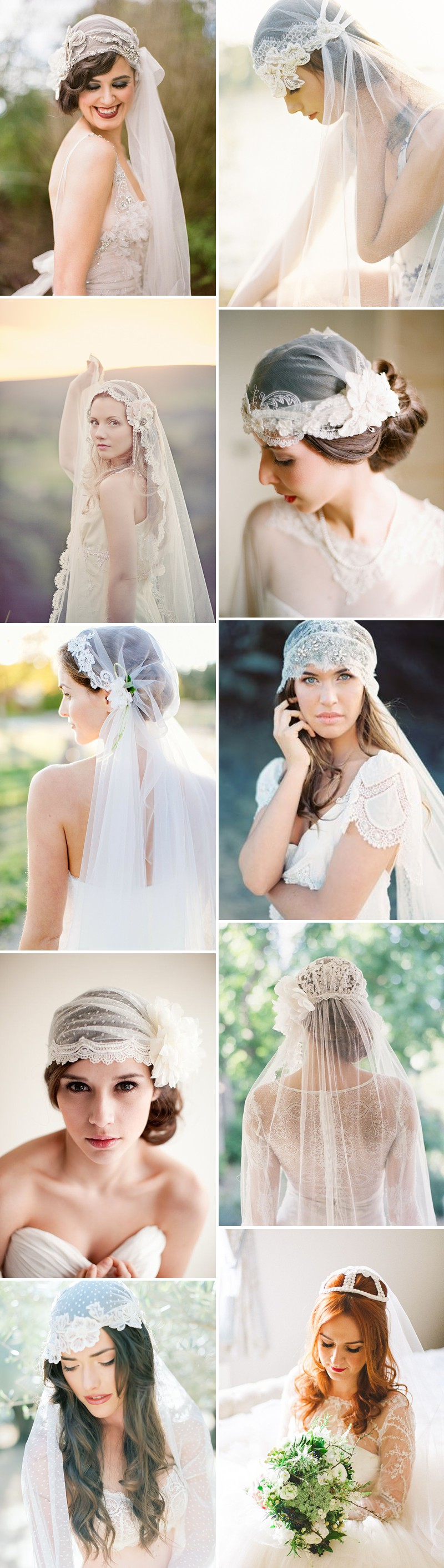 Rock My Wedding's Favourite 2014 Bridal Trends Including Statement Back Bridal Gowns, Juliet Bridal Veil And Two Piece Wedding Dresses._0003