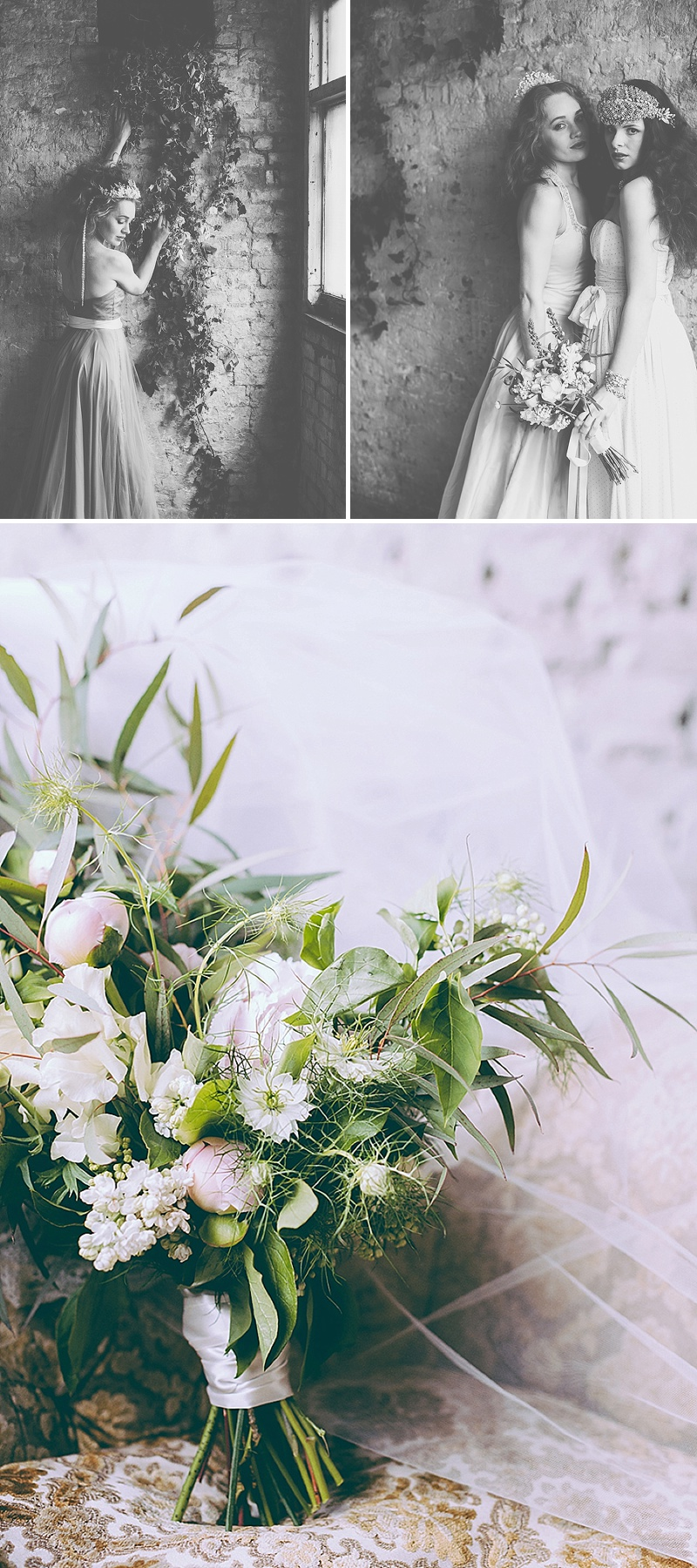 Rustic And Romantic Fairytale Bridal Inspiration Shoot With Gowns From Faith Caton-Barber And Accessories From Rosie Weisencrantz With Images By Miss Gen Photography 10
