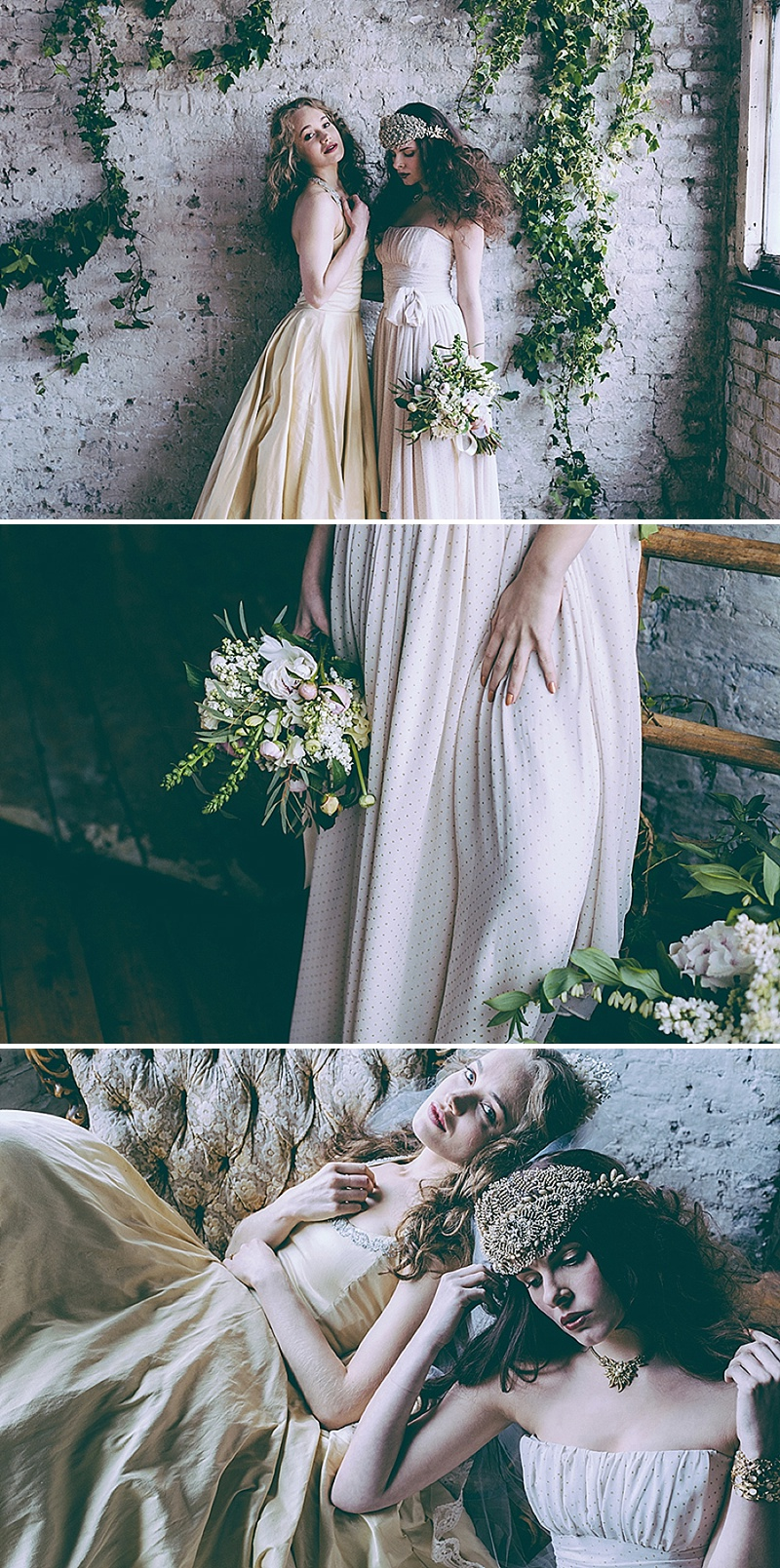 Rustic And Romantic Fairytale Bridal Inspiration Shoot With Gowns From Faith Caton-Barber And Accessories From Rosie Weisencrantz With Images By Miss Gen Photography 4