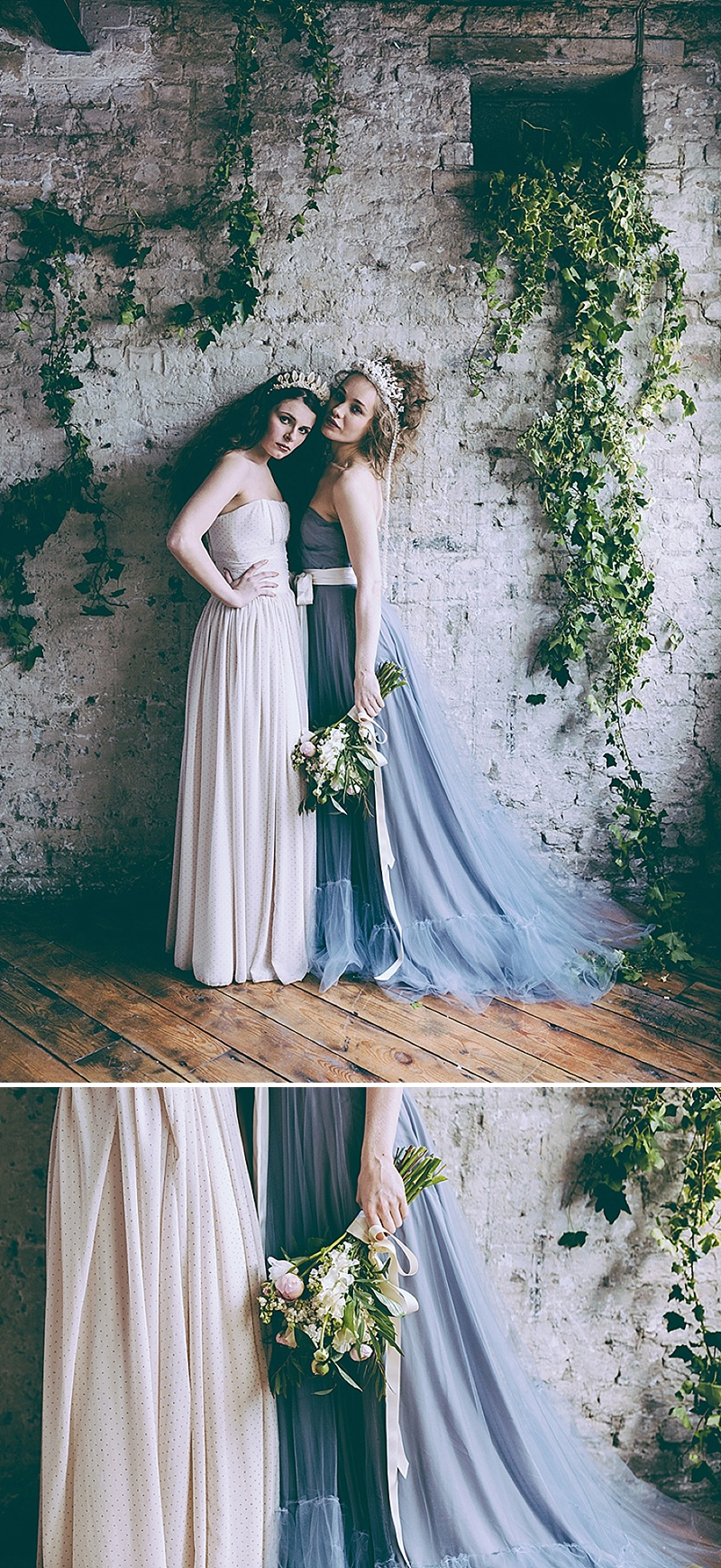 Rustic And Romantic Fairytale Bridal Inspiration Shoot With Gowns From Faith Caton-Barber And Accessories From Rosie Weisencrantz With Images By Miss Gen Photography 8