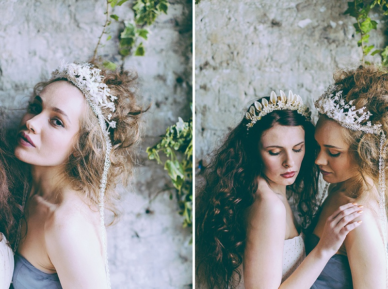 Rustic And Romantic Fairytale Bridal Inspiration Shoot With Gowns From Faith Caton-Barber And Accessories From Rosie Weisencrantz With Images By Miss Gen Photography 9