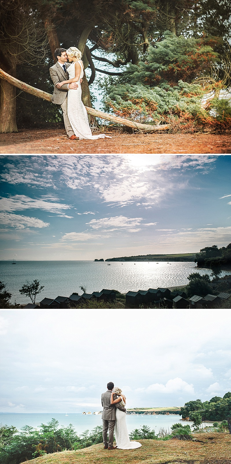 Rustic Wedding At Studland Bay House In Dorset With Bride In Charlie Brear With Hermione Harbutt Accessories And Groom In Victor Valentine Suit With Bridesmaids In French Connection 6