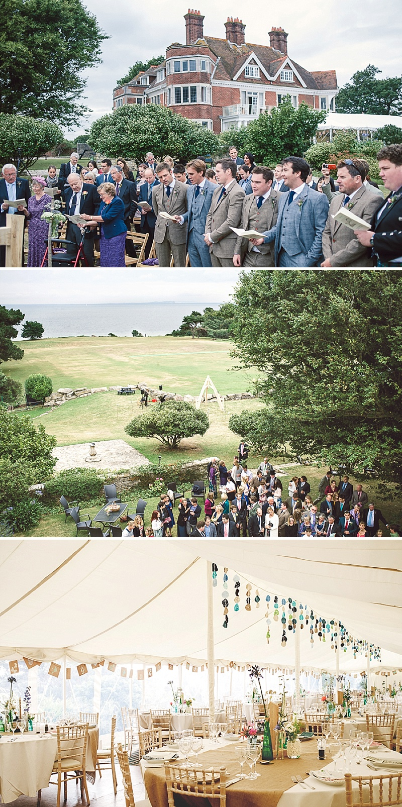 Rustic Wedding At Studland Bay House In Dorset With Bride In Charlie Brear With Hermione Harbutt Accessories And Groom In Victor Valentine Suit With Bridesmaids In French Connection 7