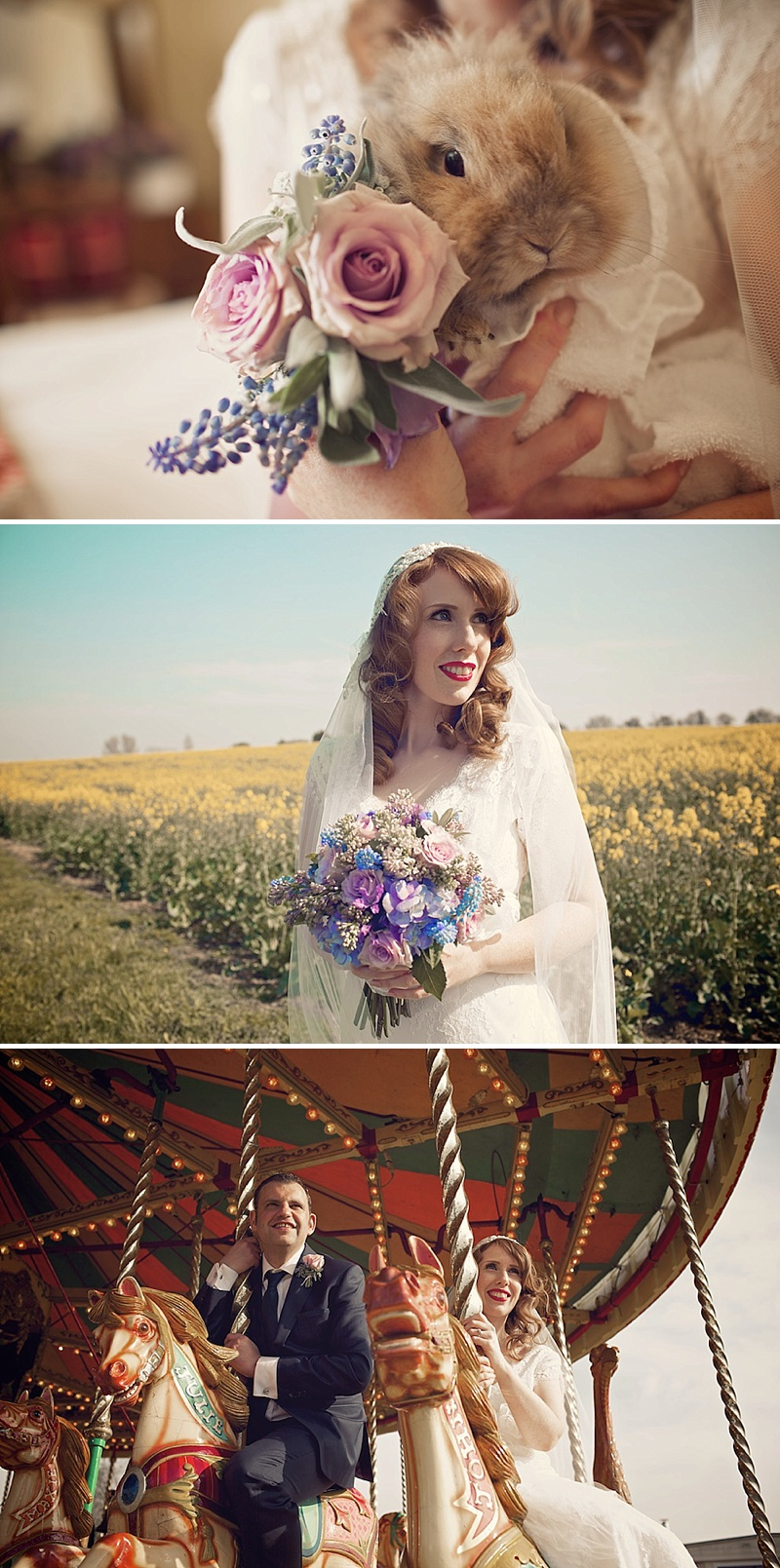 Vintage Wedding Inspired By The Carousel Scene From Mary Poppins With A Mint Green, Lavender And Gold Colour Scheme With Bride In Gala By Cymbeline With Rachel Simpson Shoes 1