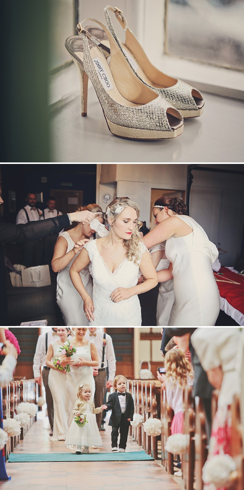 A 1920 vintage wedding at The Gatsby in Berkhamstead with a Lusan Mandongus dress and bridesmaids in ghost_0195