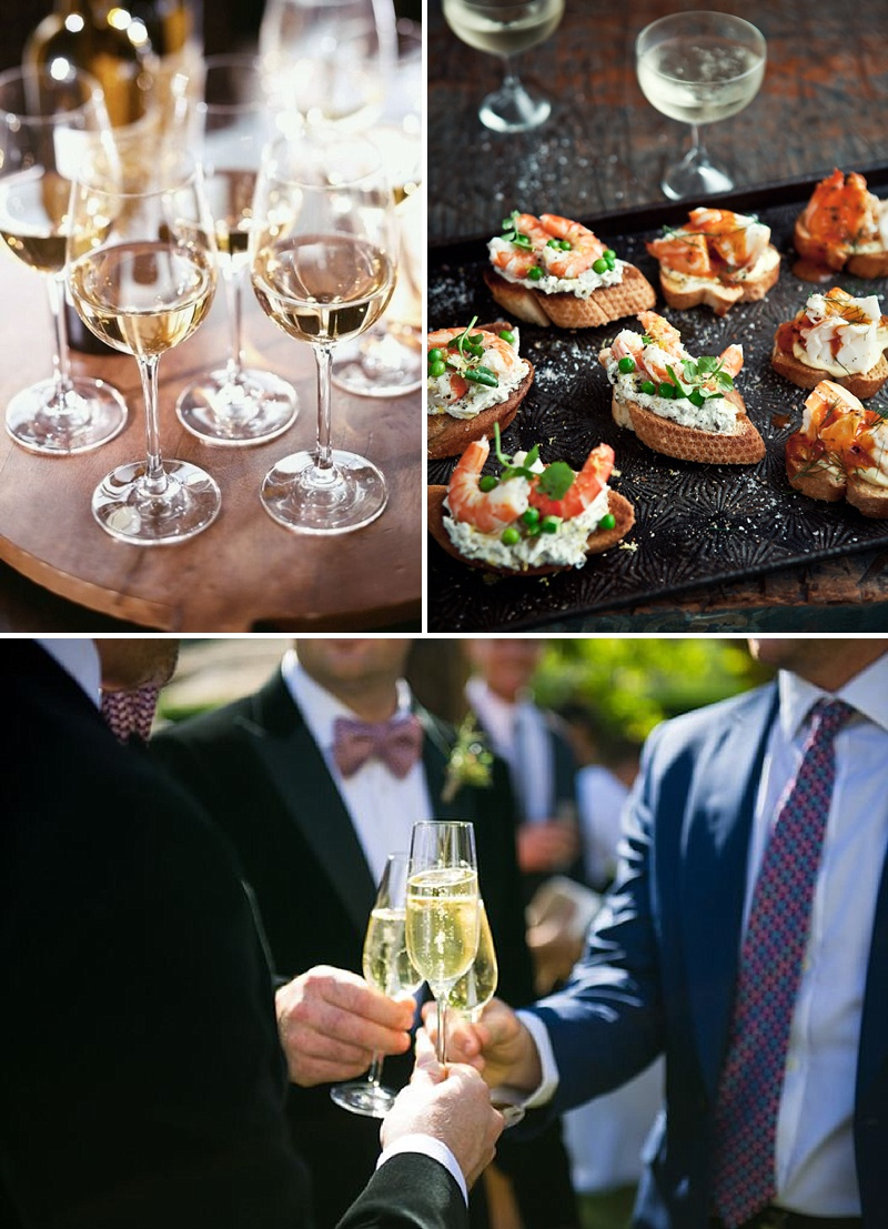 A Guide To Matching Wine To Your Food On Your Wedding Day And Tips On How Much Alcohol To Order From The Wholesaler For Your Guests From Cin Cin Mobile Italian Catering Serving Nibbles And Bubbles 1