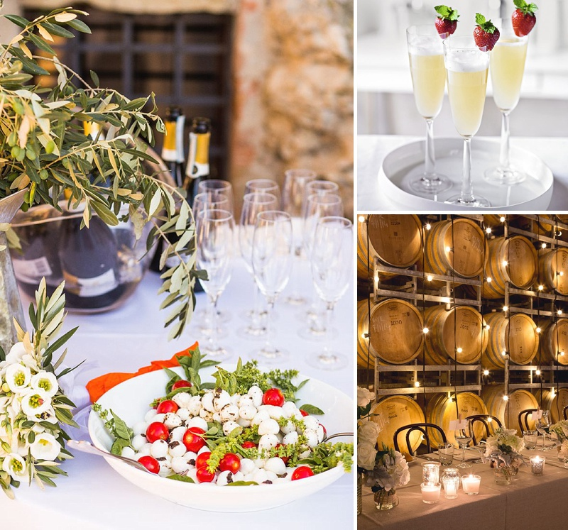 A Guide To Matching Wine To Your Food On Your Wedding Day And Tips On How Much Alcohol To Order From The Wholesaler For Your Guests From Cin Cin Mobile Italian Catering Serving Nibbles And Bubbles 4