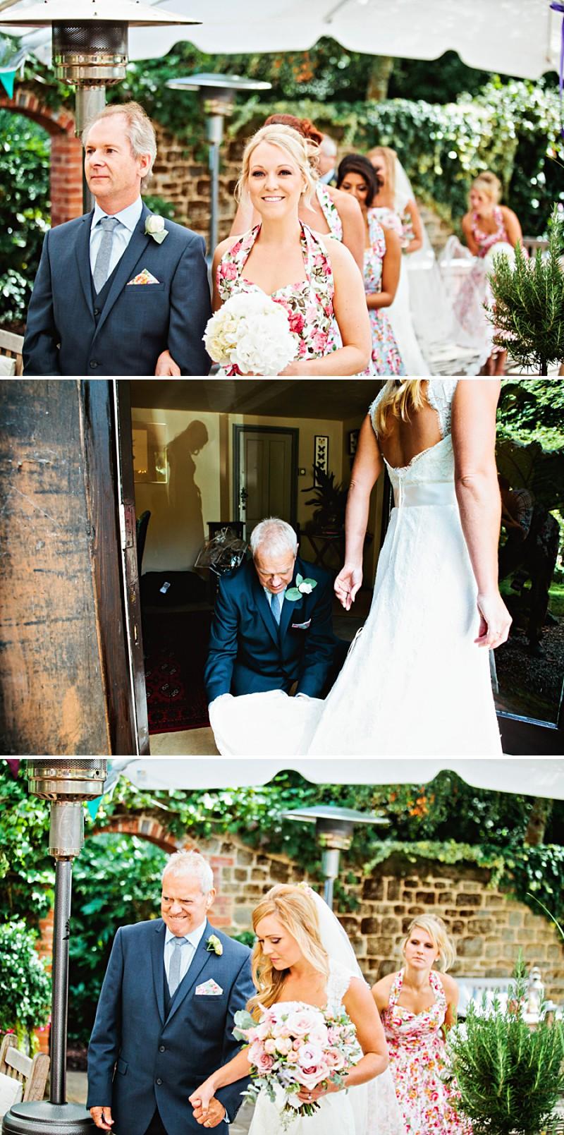 Passing Rings Around At Wedding