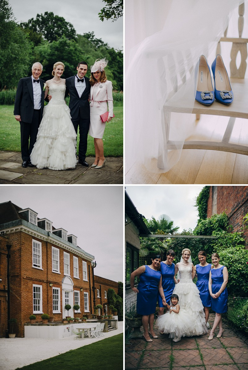 A black tie city wedding with blue colour scheme and Phillipa Lepley gown_0001