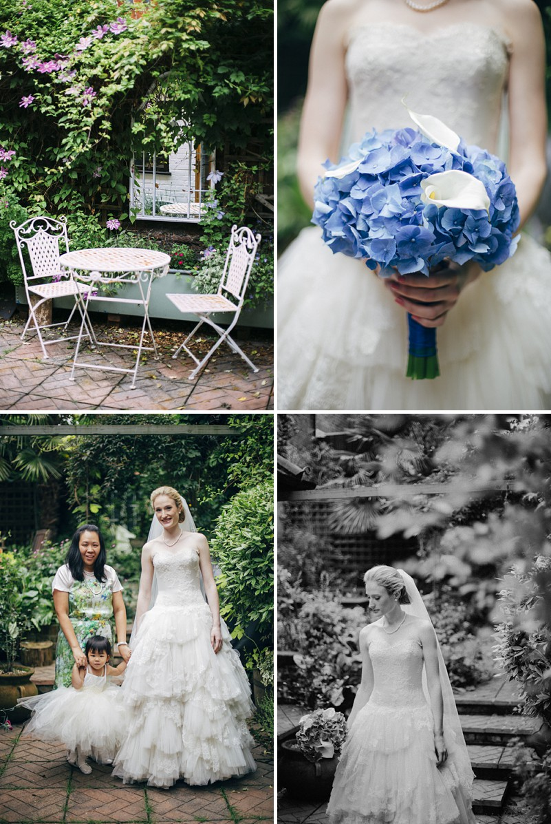 A black tie city wedding with blue colour scheme and Phillipa Lepley gown_0003