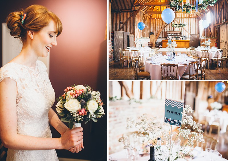 A modern contemporary barn wedding with bright colour scheme Essence of Australia dress and reiss suit.  Home made decorations and DIY elements. Photography by Lemonade Pictures_0001