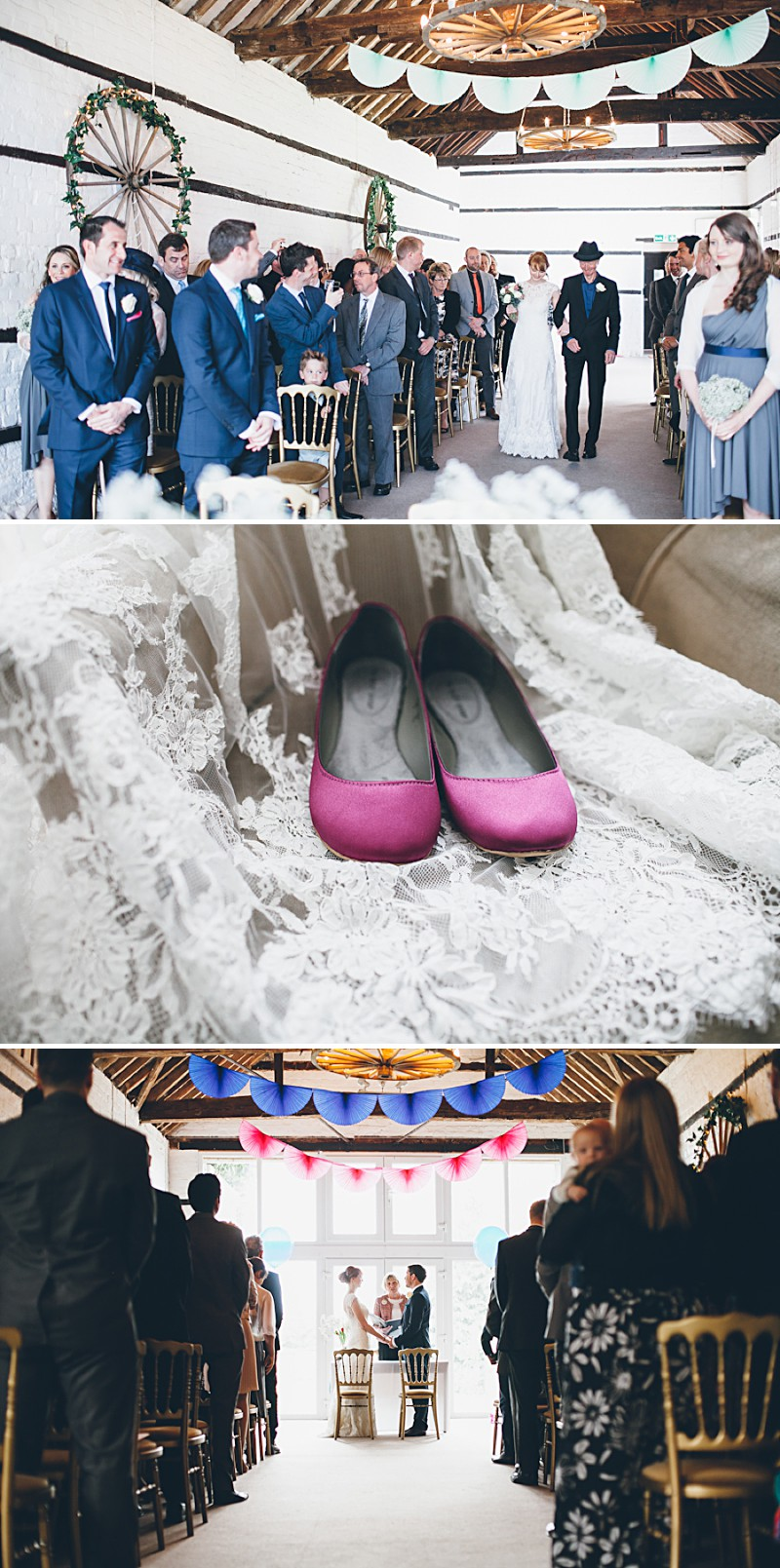 A modern contemporary barn wedding with bright colour scheme Essence of Australia dress and reiss suit.  Home made decorations and DIY elements. Photography by Lemonade Pictures_0006