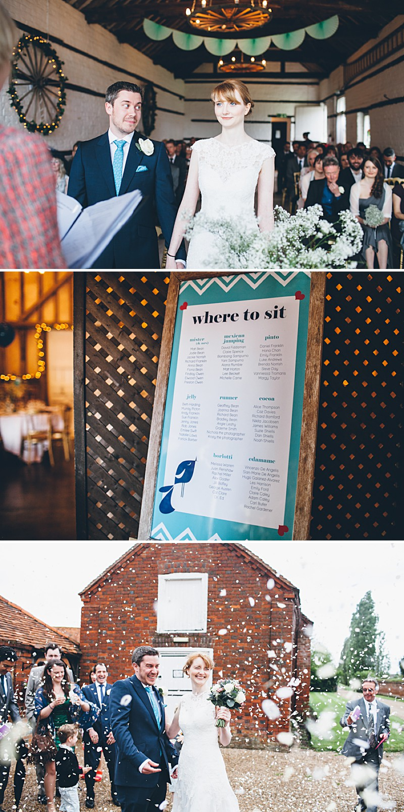 A modern contemporary barn wedding with bright colour scheme Essence of Australia dress and reiss suit.  Home made decorations and DIY elements. Photography by Lemonade Pictures_0007