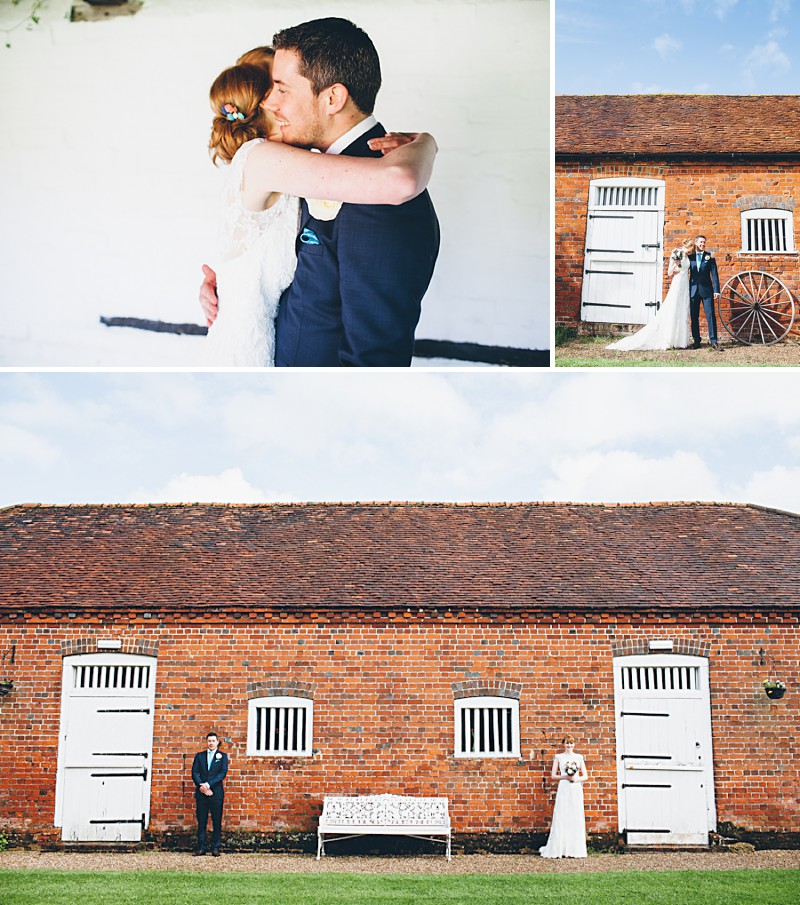 A modern contemporary barn wedding with bright colour scheme Essence of Australia dress and reiss suit.  Home made decorations and DIY elements. Photography by Lemonade Pictures_0011