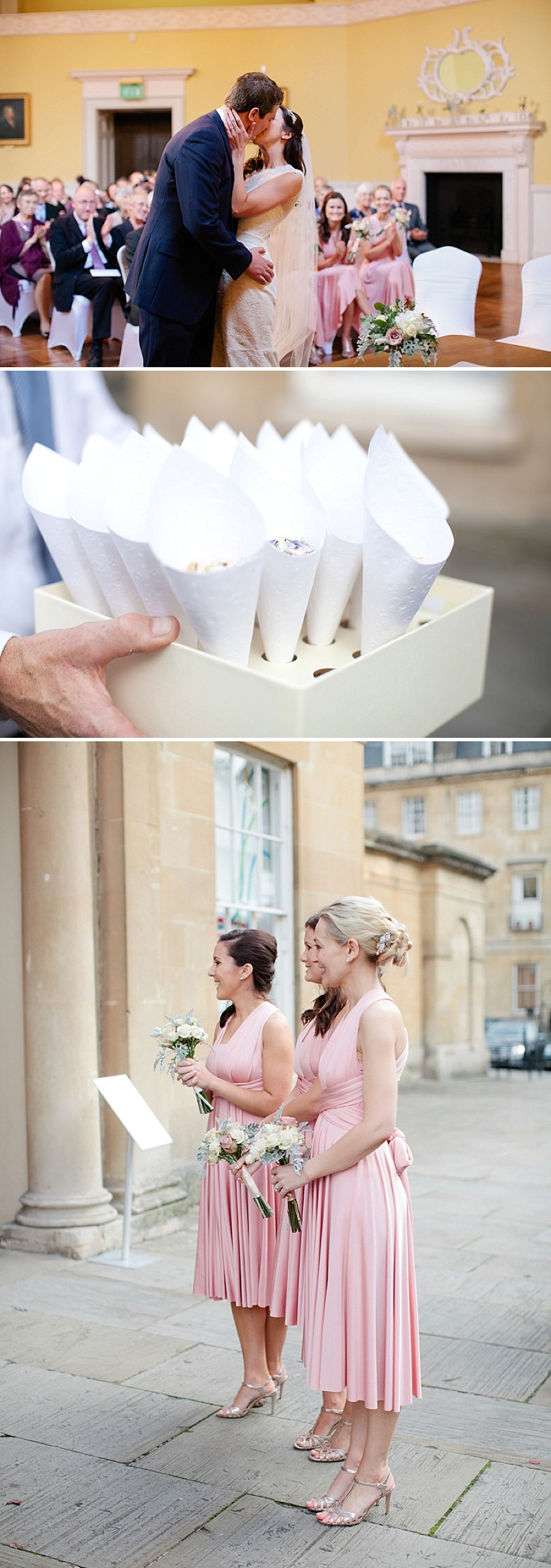 An Elegant Vintage Inspired Wedding At The Assembly Rooms Bath With Bride In Baroque By Suzanne Neville And Bridesmaids In Pink TwoBirds Gowns With Flowers From Flowers By Passion And Images From Helen Cawte Photography 5