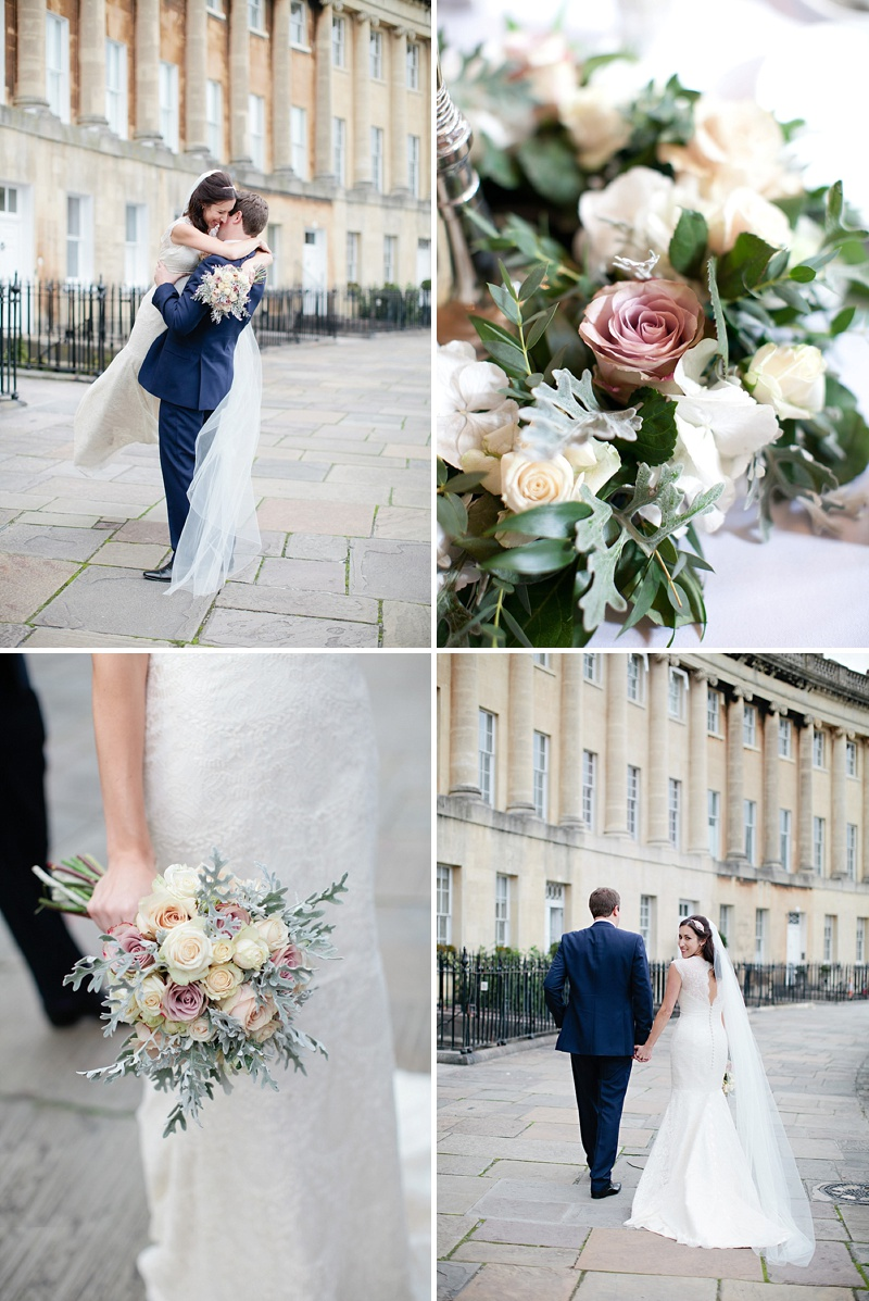 An Elegant Vintage Inspired Wedding At The Assembly Rooms Bath With Bride In Baroque By Suzanne Neville And Bridesmaids In Pink TwoBirds Gowns With Flowers From Flowers By Passion And Images From Helen Cawte Photography 6