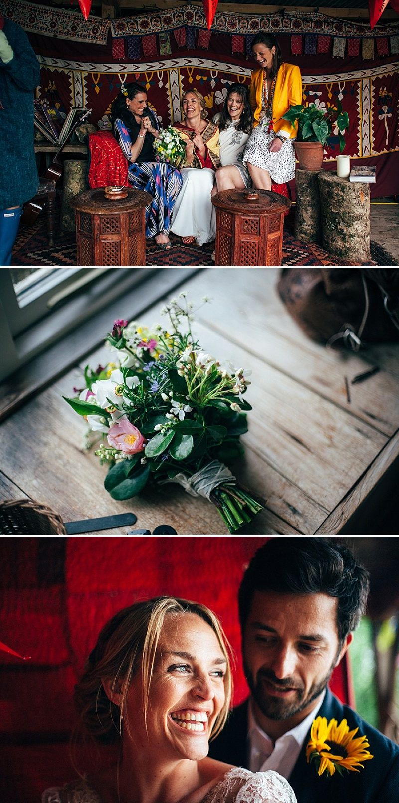 Bohemian Weekend Long Wedding In Devon With Images By Lucy Turnbull 1