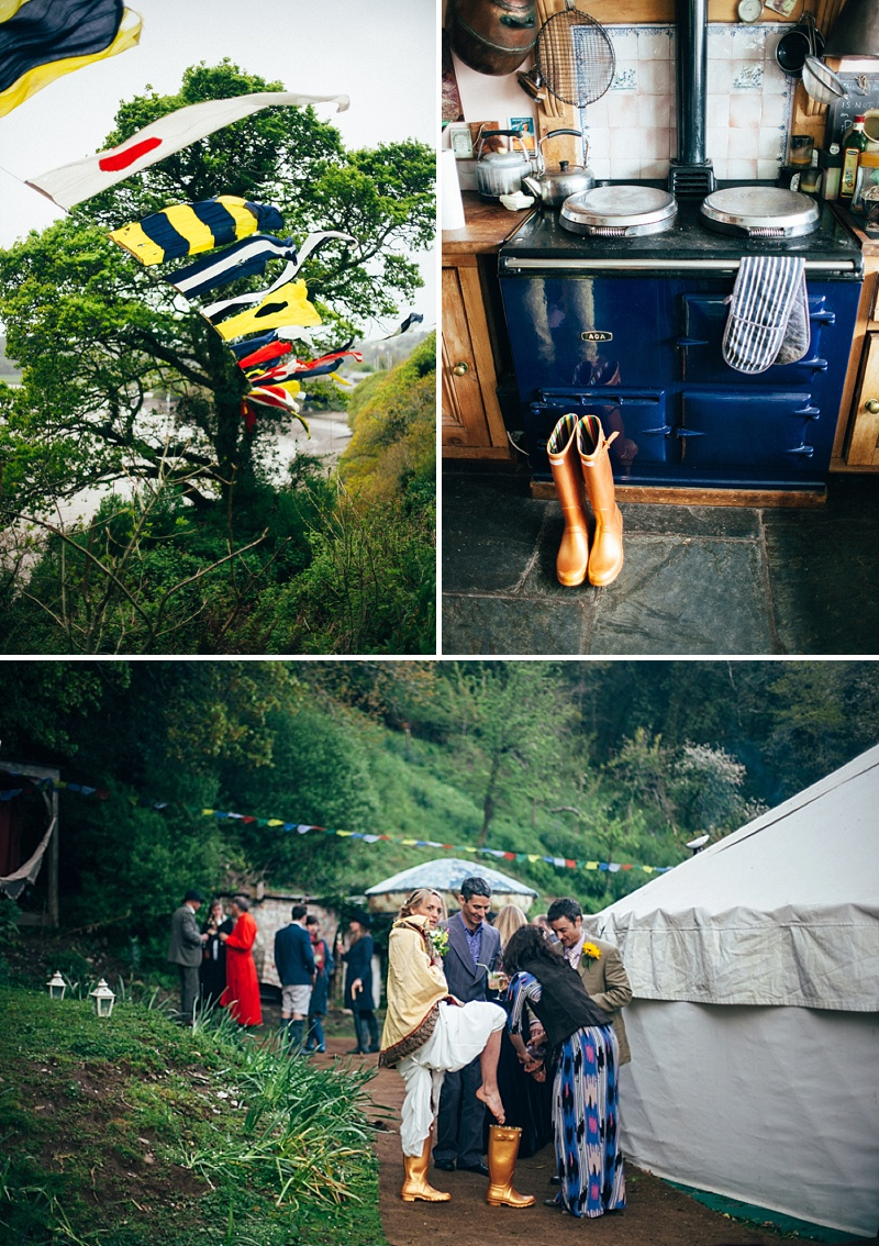 Bohemian Weekend Long Wedding In Devon With Images By Lucy Turnbull 8