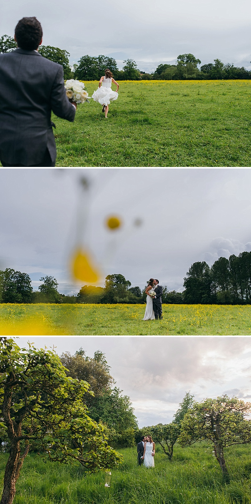 Classic Country House Wedding At Nether Wichenden House With Bride In Gown By Jesus Peiro And Bridesmaids In Yellow Dresses From Coast With Groom In Suit From Debenhams And Images By Babb Photo 9