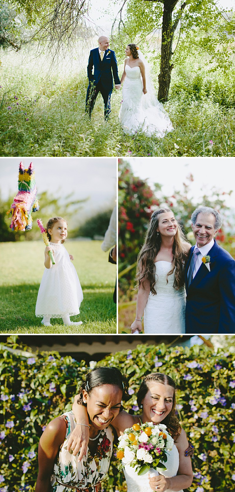 Destination Wedding In Gaucin In Spain With An Orange And Navy Colour Scheme And A La Sposa Wedding Dress With Photography By David Jenkins._0005