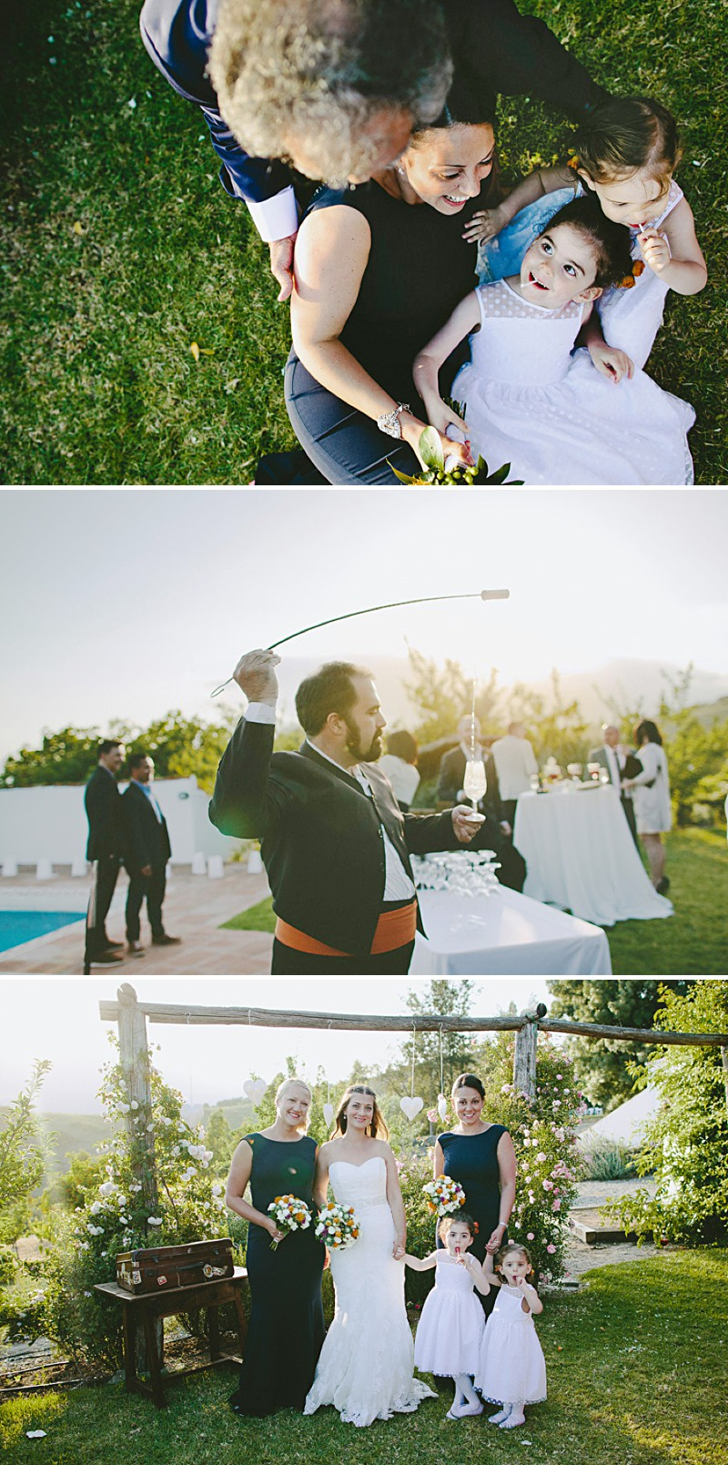 Destination Wedding In Gaucin In Spain With An Orange And Navy Colour Scheme And A La Sposa Wedding Dress With Photography By David Jenkins._0007