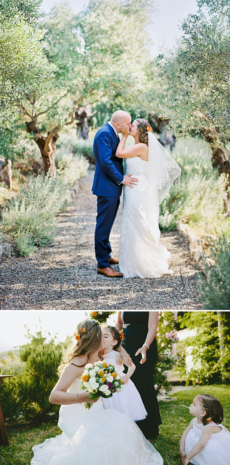 Destination Wedding In Gaucin In Spain With An Orange And Navy Colour Scheme And A La Sposa Wedding Dress With Photography By David Jenkins._0008