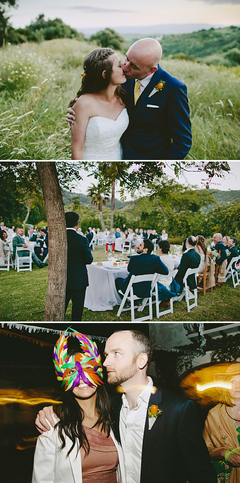 Destination Wedding In Gaucin In Spain With An Orange And Navy Colour Scheme And A La Sposa Wedding Dress With Photography By David Jenkins._0010