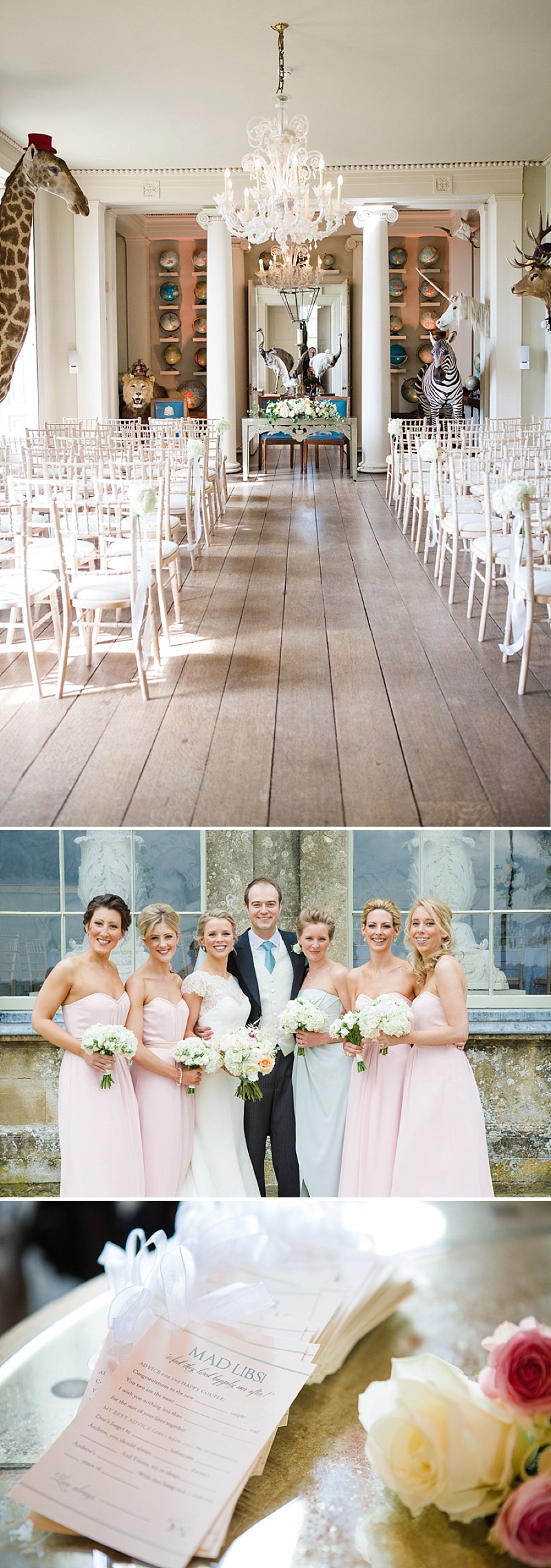 Elegant Wedding At Aynhoe Park With A Pastel Colour Scheme And Bride In A Lace Cap Sleeved Augusta Jones Dress For The Ceremony And A Sequinned Jenny Packham Gown For The Reception And Bridesmaids In Pink Dresses From Ted Baker 5