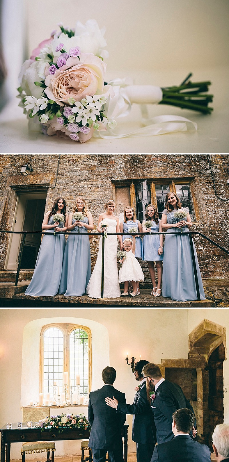 Elegant Wedding At Brympton House In Somerset With A Duck Egg Blue Colour Scheme With Bride In Gown From Prima Moda And Groom In Suit From Moss With Images From How Photography 2