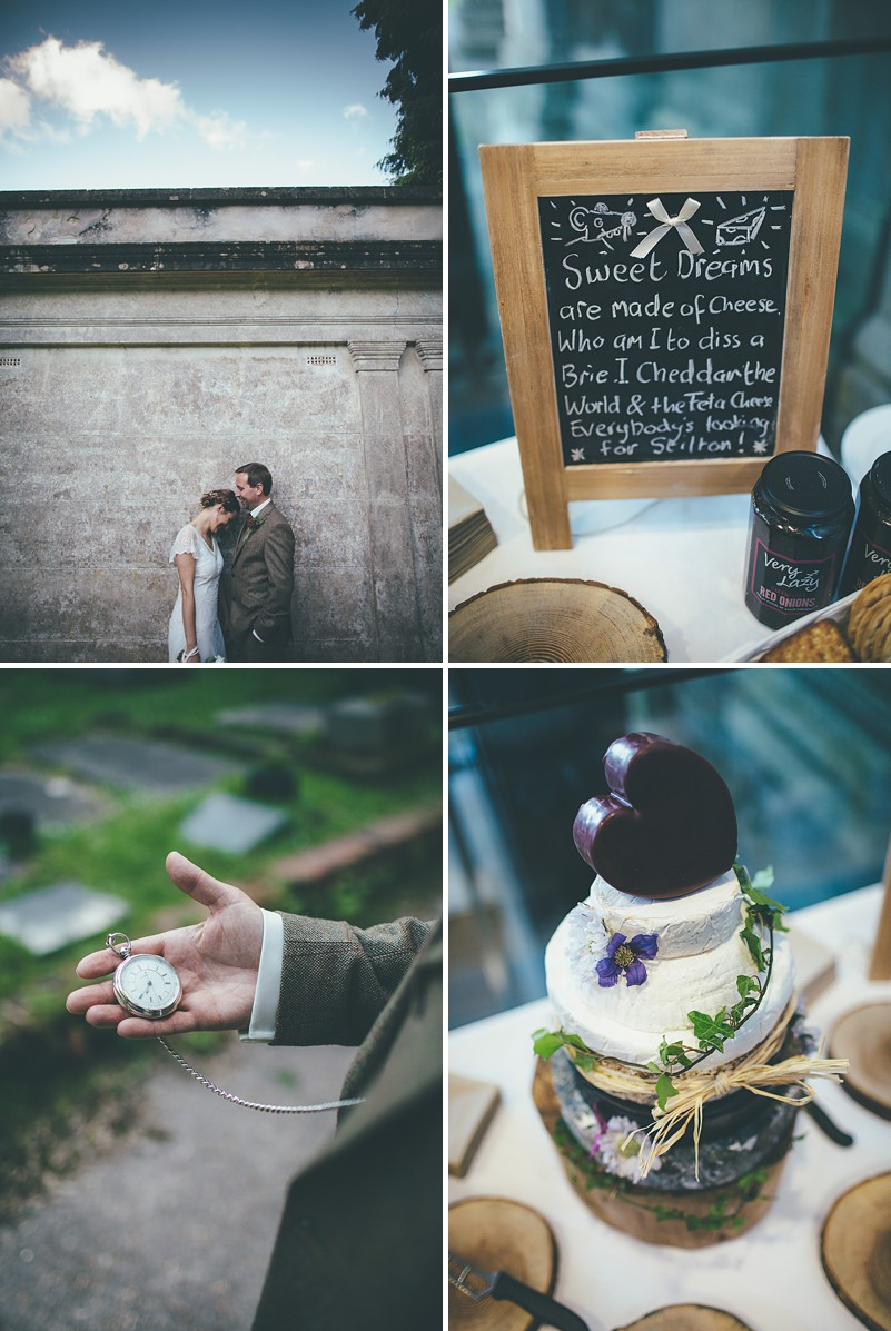 Rustic Wedding At Arnos Vale In Bristol With A 'Rania' Dress by Anouska G And Groom In Walker Slater Suit By Matt Willis Photography._0010