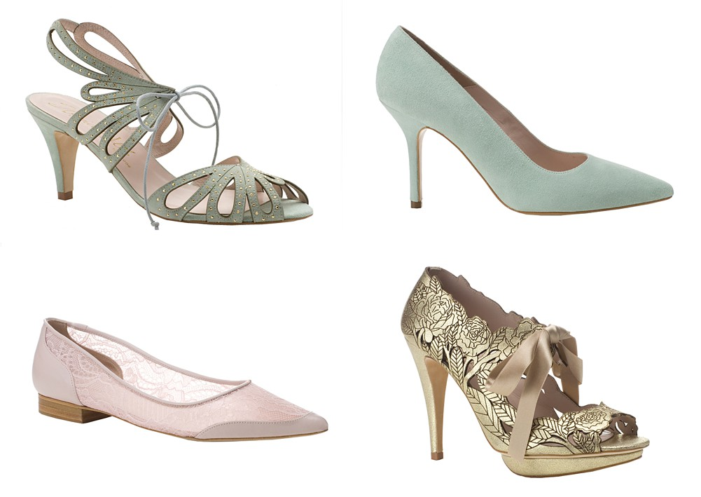 An Exclusive Look At Harriet Wilde's Brand New Floral Garden And Sheer Elegance Shoe Collection For 2014._0001