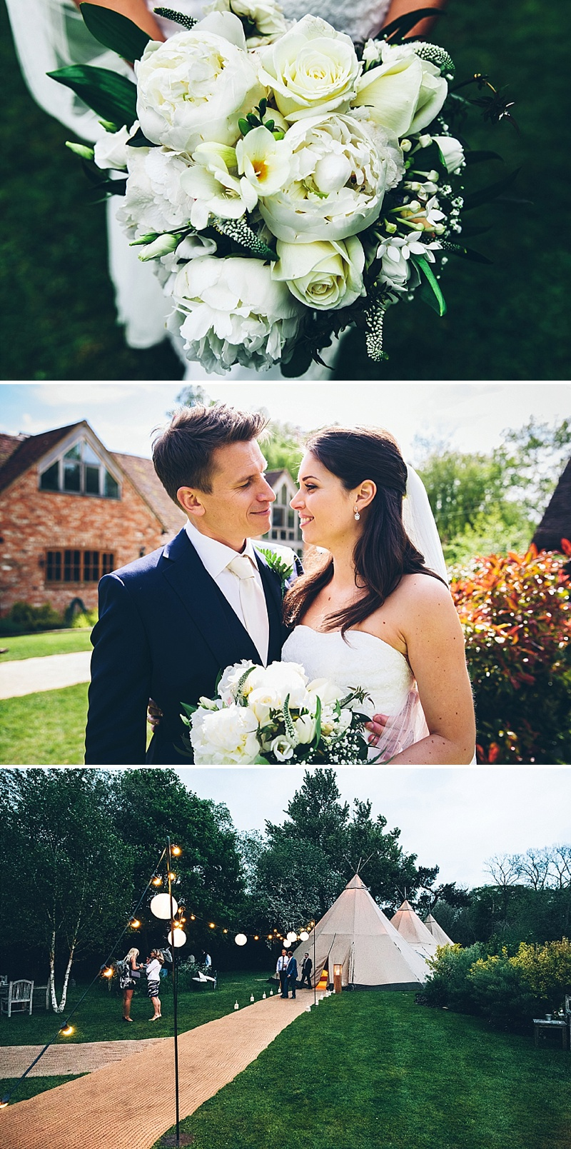 Outdoor Wedding In Oxfordshire With Papakata Tipis And Bride In Kyra By Maggie Sottero With Rachel Simpson Shoes And Groom In Bespoke Suit By Oxford House 1