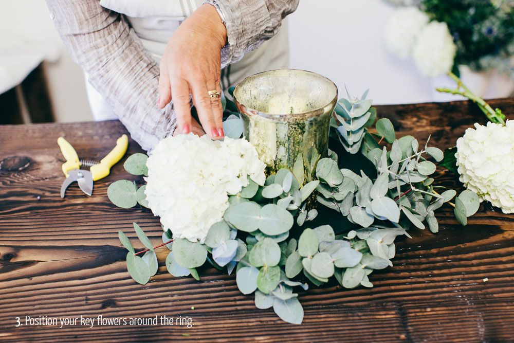 Winter centerpiece diy how to diy wedding flowers junglespirit Images