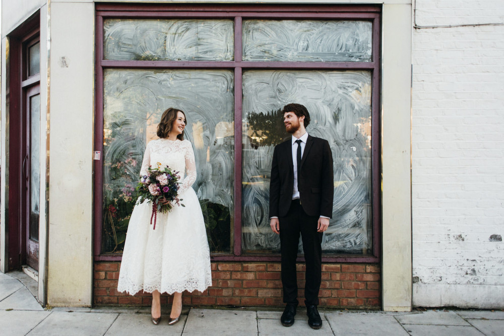 Hannah and Joe's Stoke Newington Town Hall and Pub Wedding-104