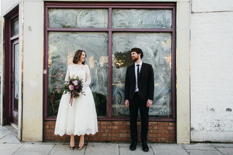 Hannah and Joe's Stoke Newington Town Hall and Pub Wedding-104