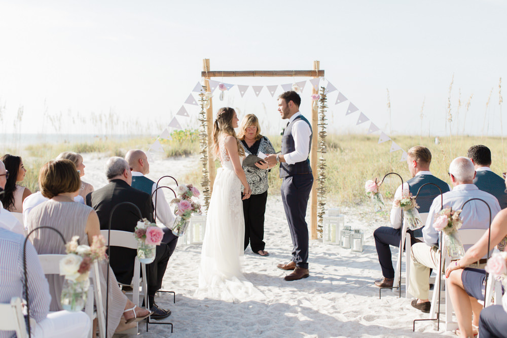 Destination Wedding In Florida With A Ceremony On The