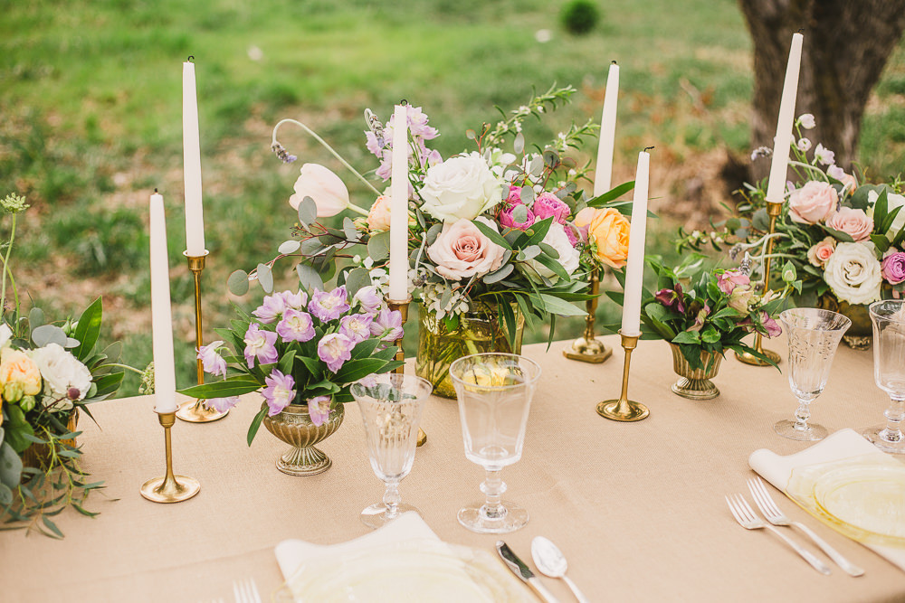 Outdoor wedding inspiration shoot in utah usa with for La belle fleur
