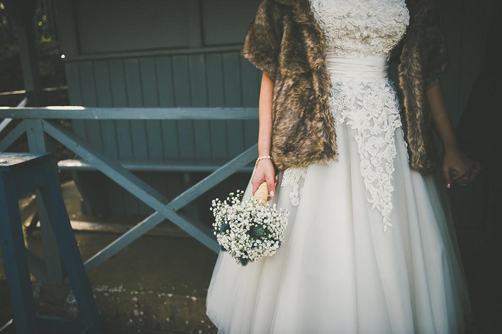 Justin Alexander Lace Tea Length Wedding Dress, For A