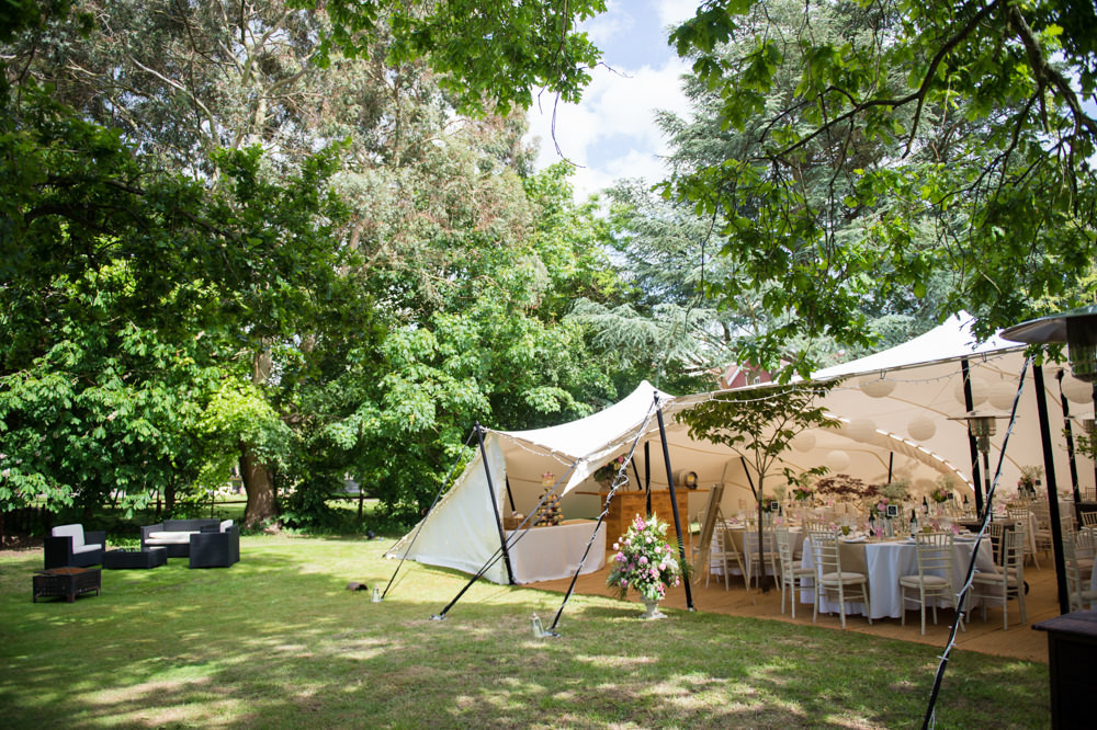 A Back Garden Wedding In Surrey With Alan Hannah Gown