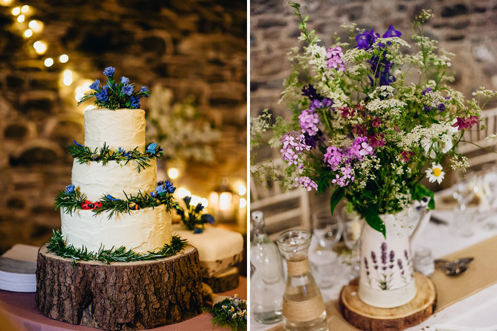 Rustic Wedding Decorations Michaels : Rustic wedding at new house farm with diy decor wild