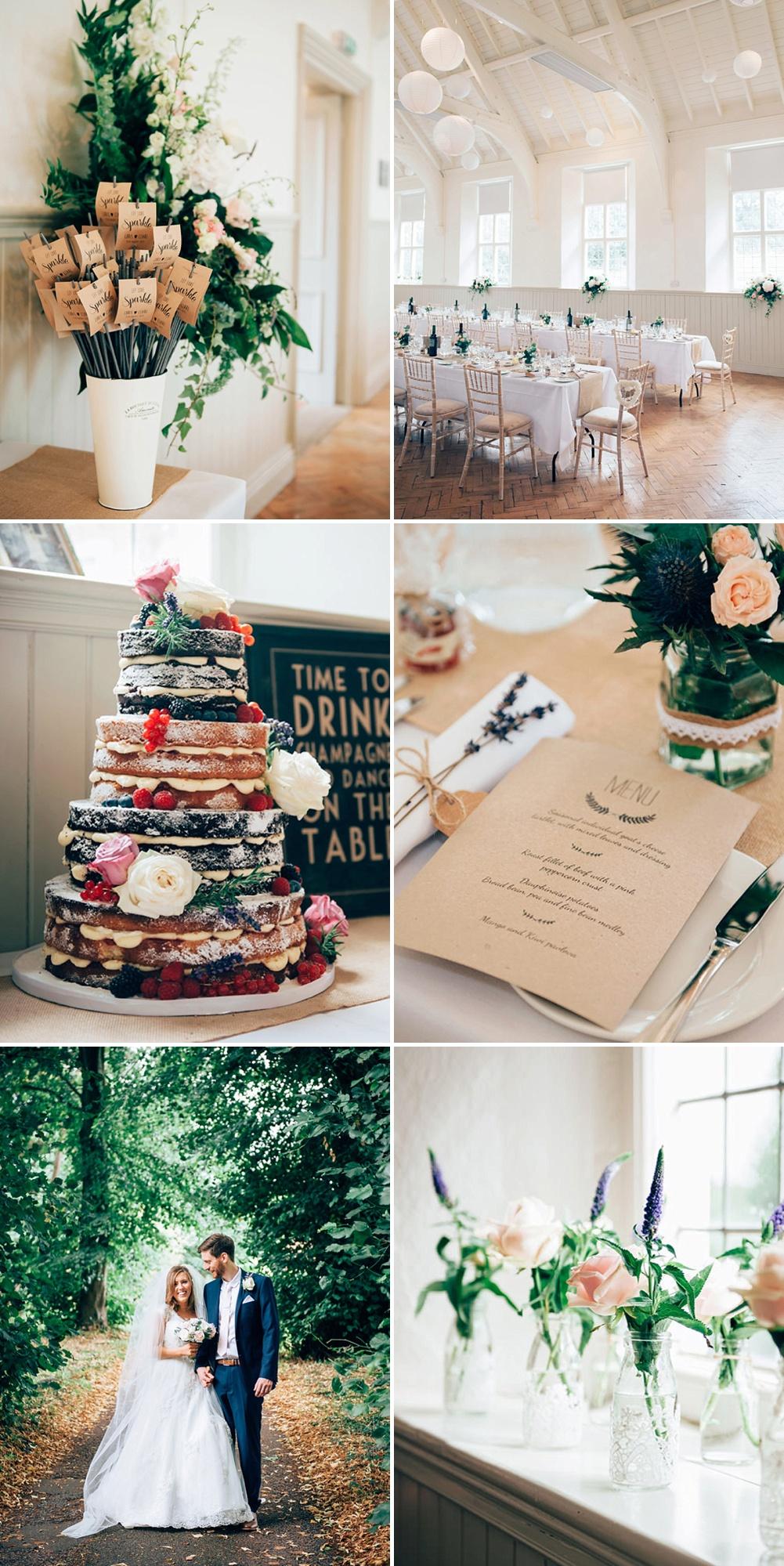 DIY Village Hall Wedding with High Street ASOS Bridesmaid